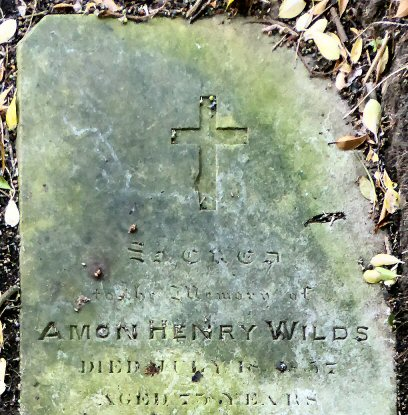 AHWilds gravestone